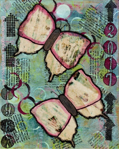 1967 2017 kimberhew Butterfly mixed media unboxingof kim signed.jpg