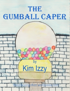 Gumball Caper blog signed cover